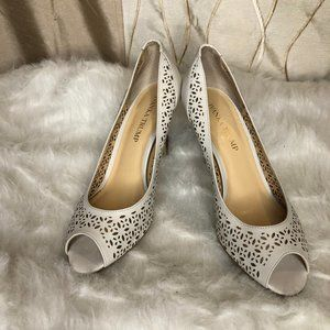 IVANKA TRUMP Laser Cut Cola Pumps